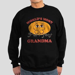 One Purrfect Grandma Sweatshirt (dark)