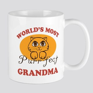 One Purrfect Grandma Mug