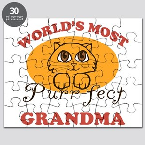 One Purrfect Grandma Puzzle