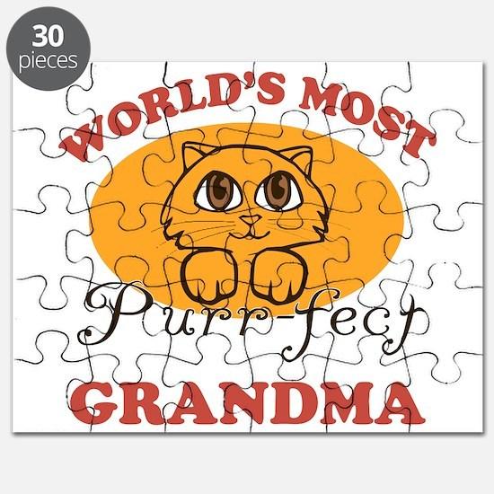 One Purrfect Grandma Puzzle