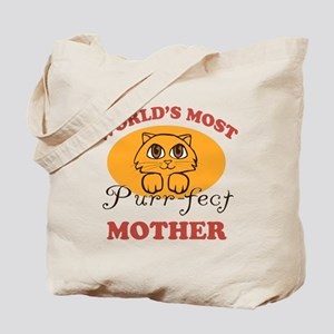 One Purrfect Mother Tote Bag