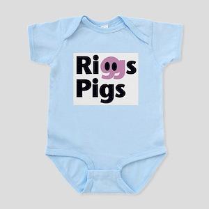 Riggs Pigs - Infant Creeper