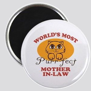 One Purrfect Mother-In-Law Magnet