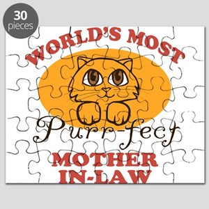 One Purrfect Mother-In-Law Puzzle
