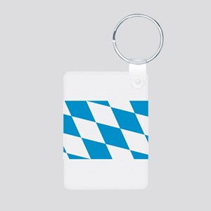 Bavaria Aluminum Photo Keychain