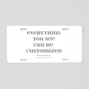 Customize Aluminum License Plate