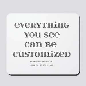 Customize Mousepad