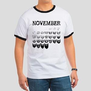 No shave november Ringer T