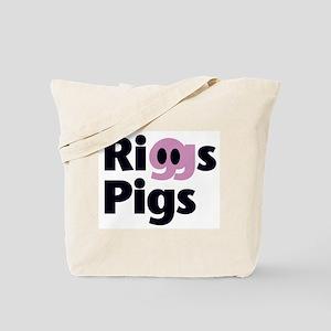 Riggs Pigs - Tennis Tote Bag