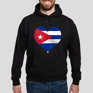 El Corazón de Cuba Hoodie (dark)