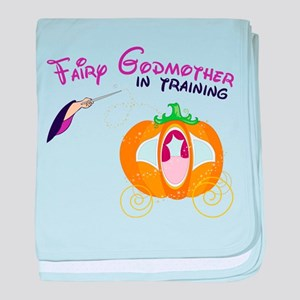 Fairy Godmother in Training baby blanket