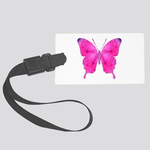 Dazzled Butterfly Large Luggage Tag