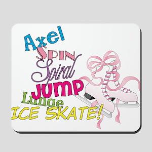 Ice Skating Mousepad