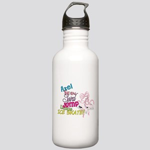 Ice Skating Stainless Water Bottle 1.0L