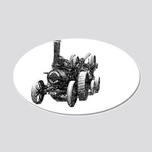 Heavy haulage pencil 20x12 Oval Wall Decal
