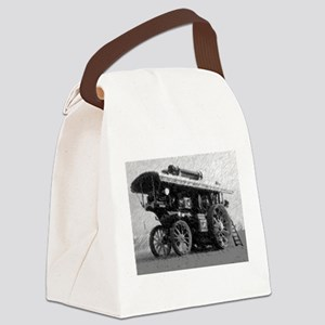 Showman pencil Canvas Lunch Bag
