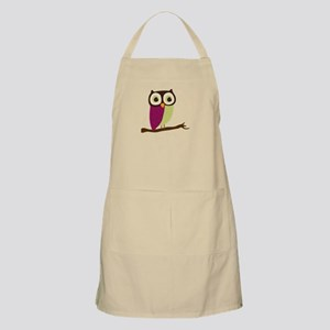 Retro Chic Owl Apron