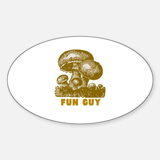 Fun Guy Sticker (Oval)