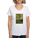 R'lyeh Women's V-Neck T-Shirt