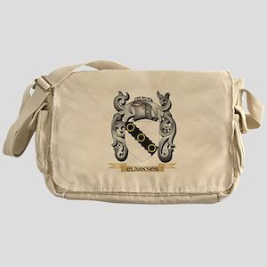 Clarkson- Family Crest - Clarkson- C Messenger Bag