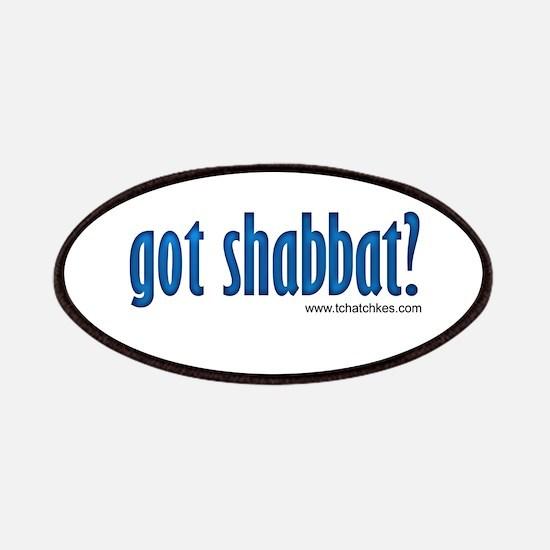 Got Shabbat? Patches
