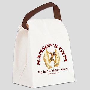 Samson's Gym Higher Power Canvas Lunch Bag