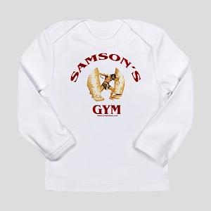 Samson's Gym Long Sleeve Infant T-Shirt