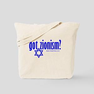 gotzionismnew Tote Bag