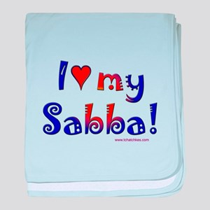 I love my Sabba baby blanket