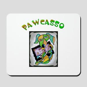 PAWCASSO Mousepad