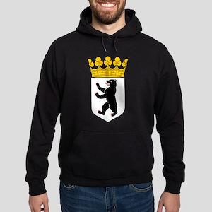 Berlin Coat of Arms Hoodie (dark)
