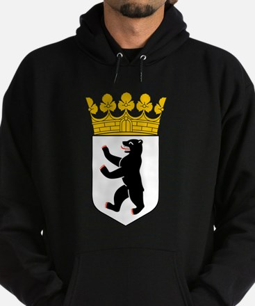 Berlin Coat of Arms Hoodie (dark)