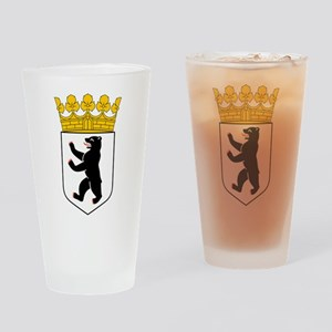 Berlin Coat of Arms Drinking Glass