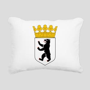 Berlin Coat of Arms Rectangular Canvas Pillow