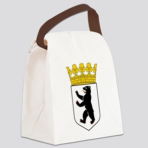Berlin Coat of Arms Canvas Lunch Bag