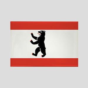 Flag of Berlin Rectangle Magnet