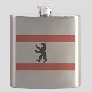 Flag of Berlin Flask