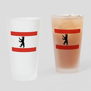 Flag of Berlin Drinking Glass