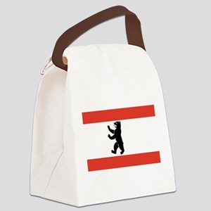 Flag of Berlin Canvas Lunch Bag