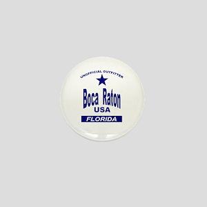 Boca Raton Mini Button