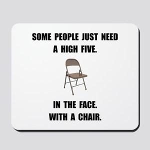 High Five Chair Mousepad