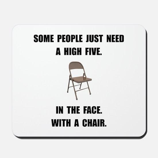 High Five Chair Mousepad