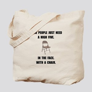 High Five Chair Tote Bag
