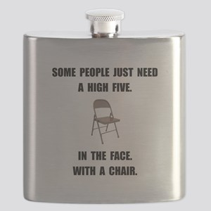 High Five Chair Flask