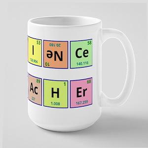 Science Teacher Large Mug