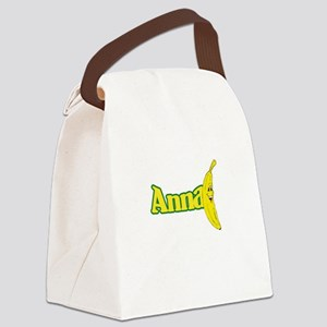 Anna Banana Canvas Lunch Bag