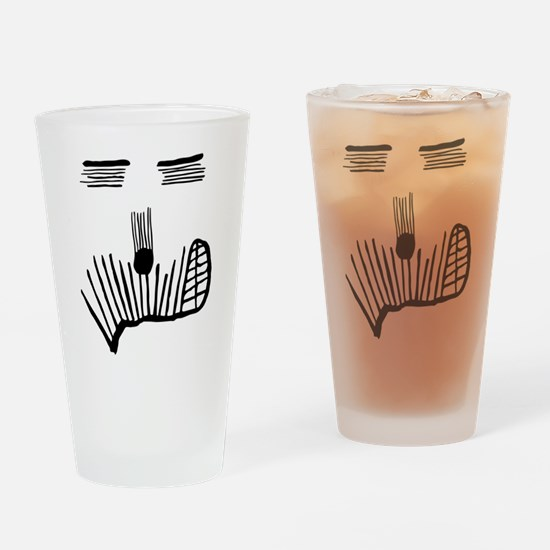 Exproodles - Smirking for Real Drinking Glass