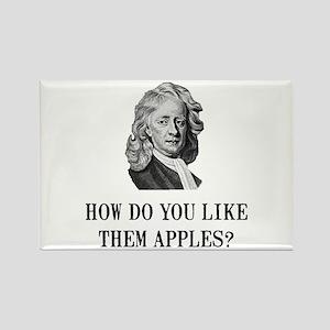 Sir Isaac Newton Apple Rectangle Magnet (10 pack)