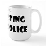 Sting Police Large Mug