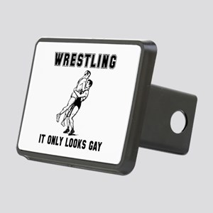 Wrestling Looks Gay Rectangular Hitch Cover